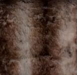 Felldecke Braun Beige 220 x 240 cm - VE1