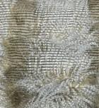 Decke Ostrich Braun, Weiß - VE 1