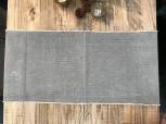 Tischläufer Canvas Medium Grau, 40 x 140cm