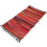 Teppich Baumwolle Pink 60x90cm