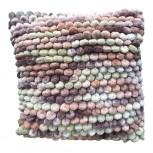 Kissen Chenille Purple Multi, 45 x 45cm