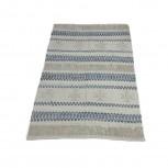 Teppich Baumwolle Denim/Weiß 140x200cm