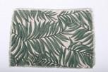 Tischset Canvas Naur Grün  bedruckt, 33 x 48 cm