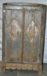 Schrank, 2 Türen, Grau