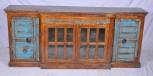 Sideboard, 4 Türen, Braun