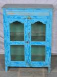Schrank, 2 Türen, Blau