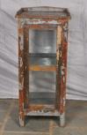 Kleiner Schrank, 1 Türe, Braun-Grau